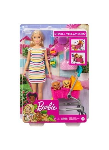 Barbie ve Köpekleri Geziyor Oyun Seti GHV92 Renkli